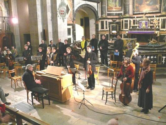 Ensemble baroque à Notre Dame 2009