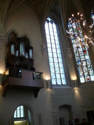 Orgue Ste Chapelle après restauration
